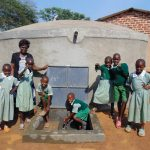 The Water Project: Lwanga Itulubini Primary School -  Celebrating The Rain Tank