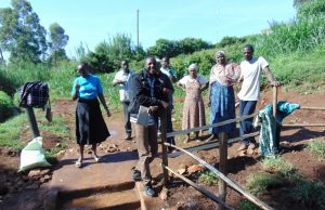 The Water Project:  Site Management Training At The Spring