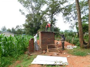 The Water Project:  Fitting The Roof
