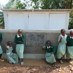 The Water Project: Lwanga Itulubini Primary School -  Girls With Their New Latrines