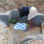 The Water Project: Shihungu Community, Shihungu Spring -  Spring Cleaning