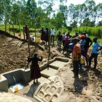 The Water Project: Ikonyero Community, Amkongo Spring -  Site Management Training