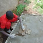 The Water Project: Sasala Community, Kasit Spring -  Sanitation Platform Construction