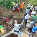 The Water Project: Shihungu Community, Shihungu Spring -  Site Management Training