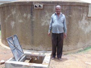 The Water Project:  Deputy Head Teacher Mr Francis Imbuizi