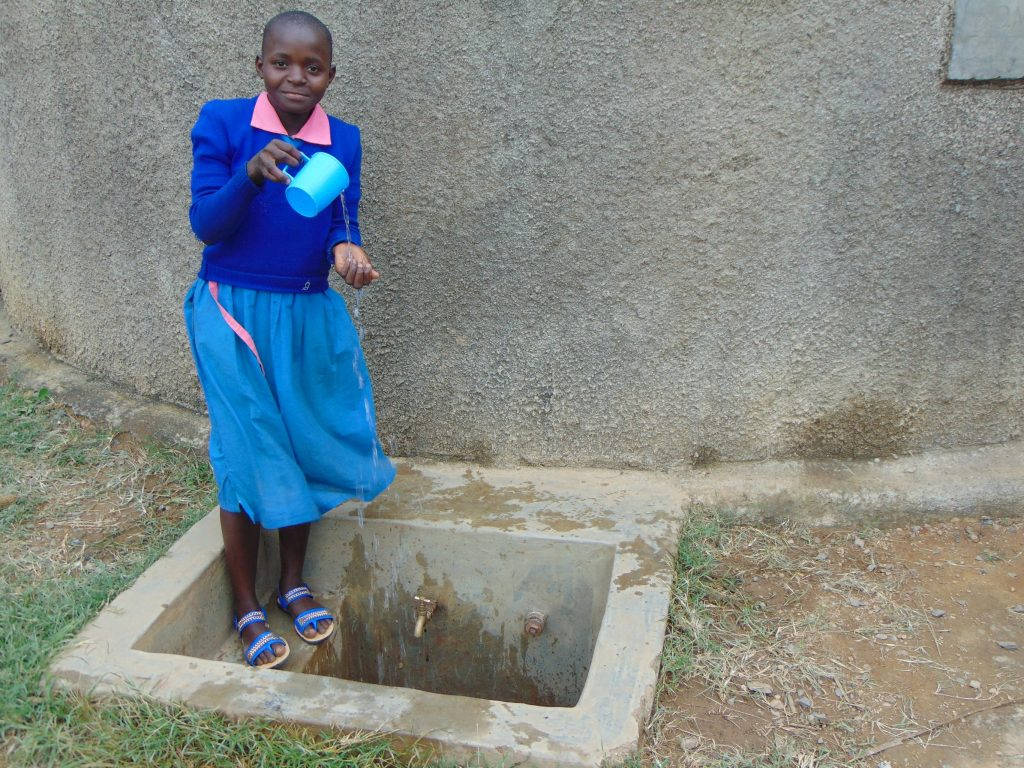 The Water Project : 2-kenya18071-brenda-mmbone