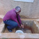 The Water Project: Precious School Kapsambo Secondary -  Mr Stanley Sandagi