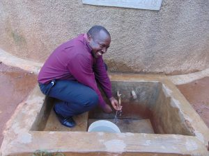 The Water Project:  Mr Stanley Sandagi