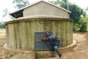 The Water Project:  Teacher Mr Eugine Imbenzi