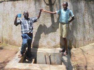 The Water Project:  Mr Chibole Withfranklin Majimbo