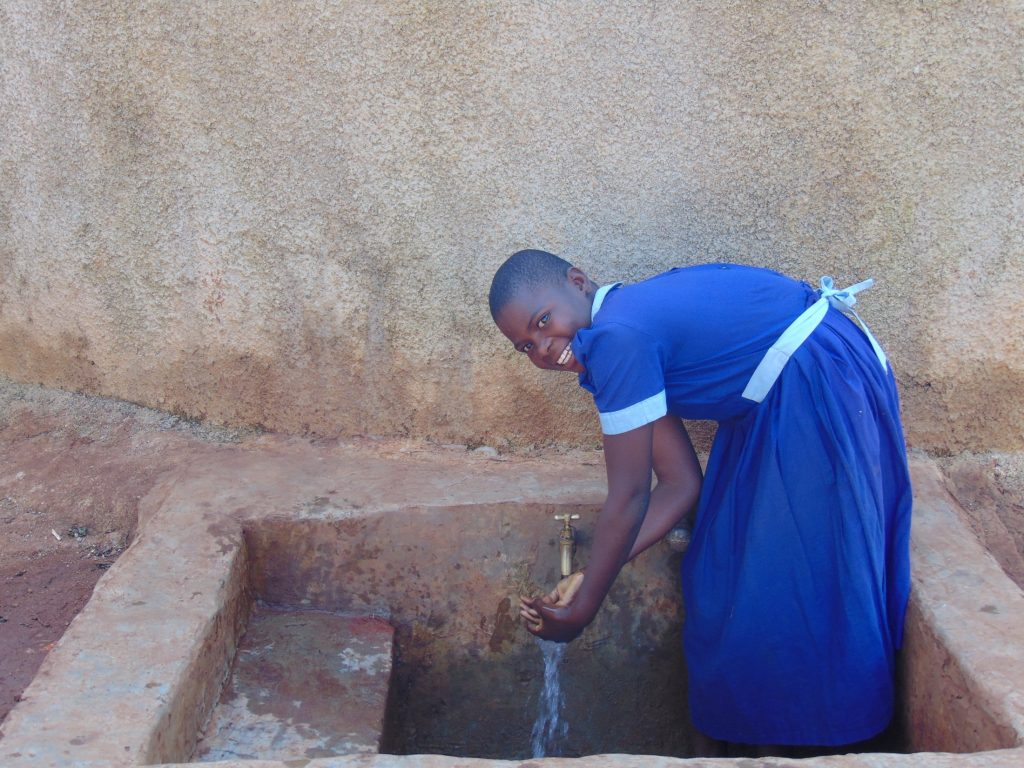 The Water Project : 2-kenya18082-marion-kageha