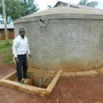 The Water Project: Imbale Primary School -  Teacher Mr Victor Livondo