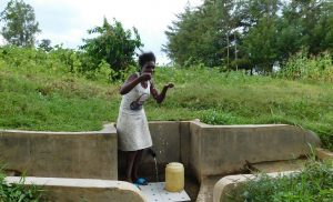 The Water Project:  Yvonne Ivayo