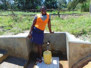The Water Project:  Yvonne Evayo