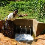The Water Project: Shirakala Community, Ambani Spring -  Rhoda Sakwa At The Spring