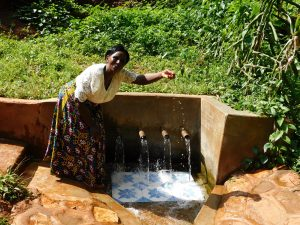 The Water Project:  Rhoda Sakwa At The Spring