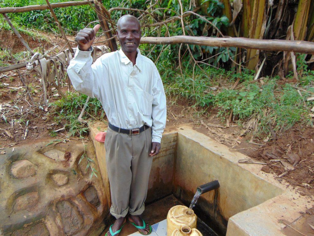 The Water Project : 2-kenya18133-juma-ambundo