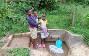 The Water Project:  Mercy Anyango With Her Baby And Tabitha