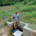 The Water Project: Emaka Community, Ateka Spring -  Mathew Oketch
