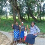 The Water Project: Lunyi Community, Fedha Mukhwana Spring -  Mama Judith Cherono Rutoh And Field Officer Karen Maruti