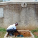 The Water Project: Lwanda Secondary School -  Renson Abungana