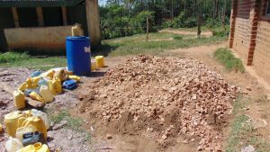 The Water Project:  Rock And Water Collection For Construction