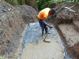 The Water Project:  Setting Spring Foundation
