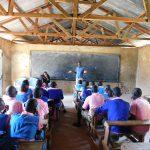 The Water Project: Kimangeti Primary School -  Training Begins