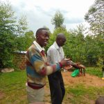 The Water Project: Sasala Community, Kasit Spring -  Handwashing Demonstration