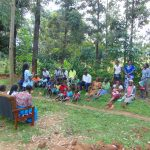 The Water Project: Shihungu Community, Shihungu Spring -  Training Continues