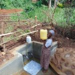 The Water Project: Lutonyi Community, Lutomia Spring -  Full Of Clean Water