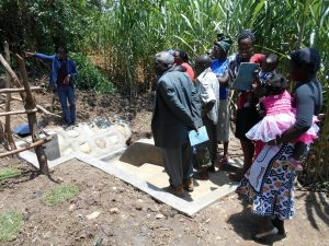 The Water Project:  Training At The Spring