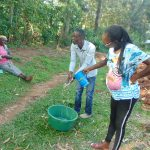 The Water Project: Shihungu Community, Shihungu Spring -  Handwashing Demonstration
