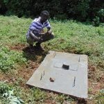 The Water Project: Lutonyi Community, Lutomia Spring -  New Sanitation Platform Owner