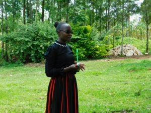 The Water Project:  Field Officer Joan Were Leads Dental Hygiene Session