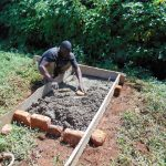 The Water Project: Lutonyi Community, Lutomia Spring -  Sanitation Platform Construction