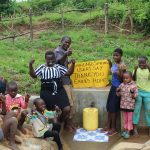 The Water Project: Shihungu Community, Shihungu Spring -  Thumbs Up For Clean Water