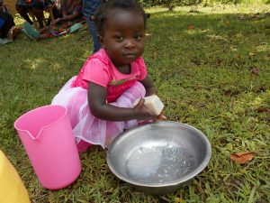 The Water Project:  A Kid Hand Washing