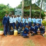 The Water Project: Kerongo Secondary School -  Finally At The School Gates