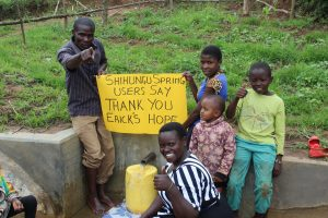 The Water Project:  Thank You Ericks Hope