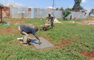 The Water Project:  Finishing A Sanitation Platform