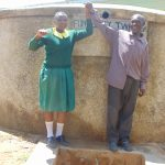 The Water Project: Madegwa Primary School -  Charity With Deputy Head Teacher Allan Lukao