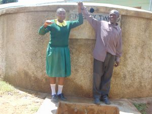 The Water Project:  Charity With Deputy Head Teacher Allan Lukao
