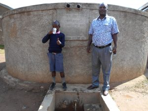 The Water Project:  Mr John Musalia With Isaac