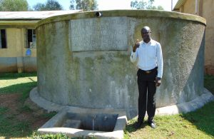The Water Project:  Teacher Mr Alexander Idache