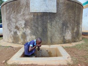 The Water Project:  Purity Drinks From The Rain Tank