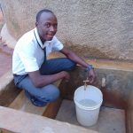 The Water Project: Precious School Kapsambo Secondary -  Douglas Mageri