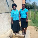 The Water Project: St. Joseph Eshirumba Primary School -  Deputy Head Teacher Mulima With Betty