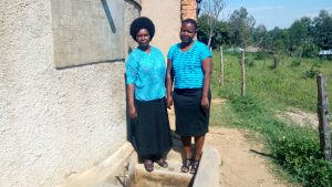 The Water Project:  Deputy Head Teacher Mulima With Betty