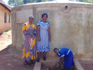 The Water Project:  Field Officer Rose Serete With Mrs Andare And Marion